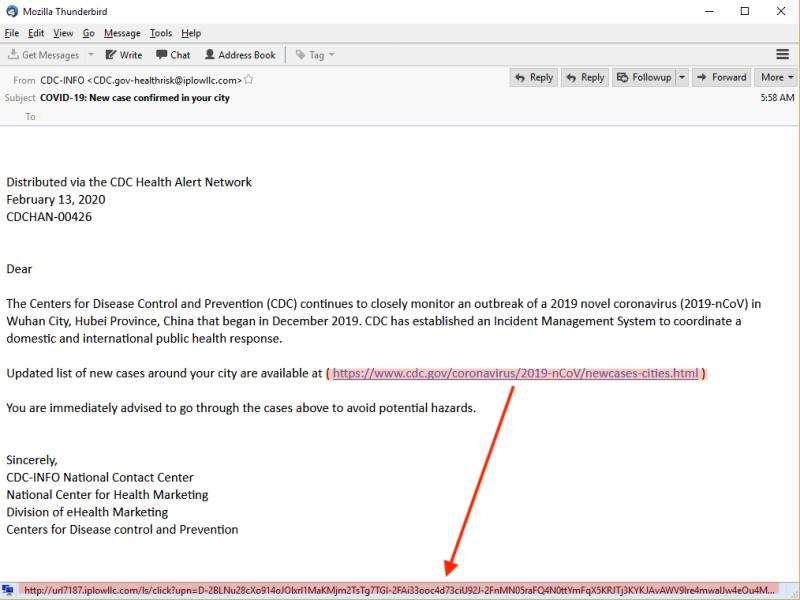 Phishing Attacks Discovered Use of Coronavirus Theme