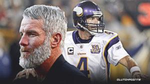 Brett Favre, the Vikings.