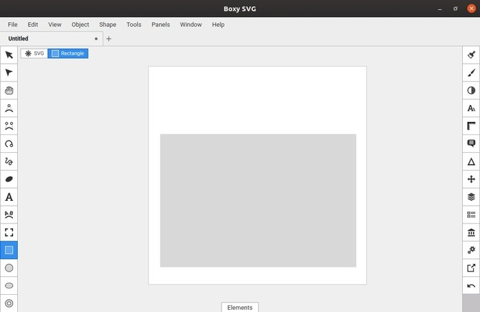 Custom folder symbols with Svg boxes draw the first rectangle