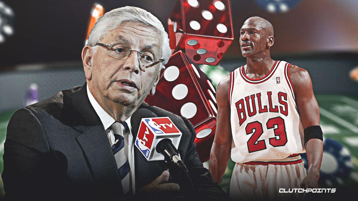 David Stern, Michael Jordan, Last Dance, The Bulls.