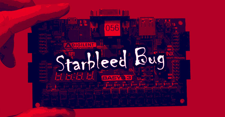 Unpatchable 'Starbleed' Bug in FPGA Chips Exhibits Critical Devices to Hackers