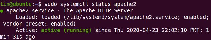 Install and Configure Apache Web Server on Ubuntu 20.04 – Linux Tip