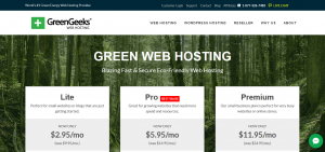 What's the Green Web Hosting?