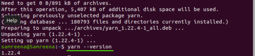 How to install Yarn on Ubuntu 20.04 LTS – Linux Tip