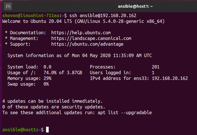 How to Install Ansible on Ubuntu 20.04 LTS – Linux Tip