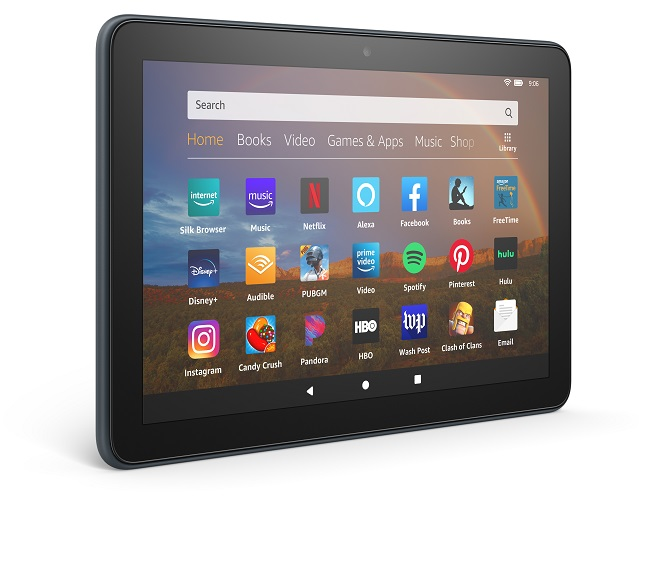 Amazon launches Fire HD 8, Fire HD 8 Plus, and Fire HD 8 Kids Edition tablets.