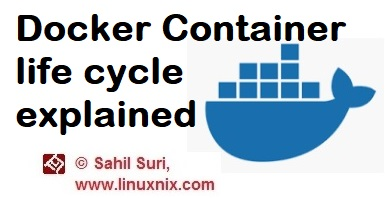 The life cycle of Docker Container explained