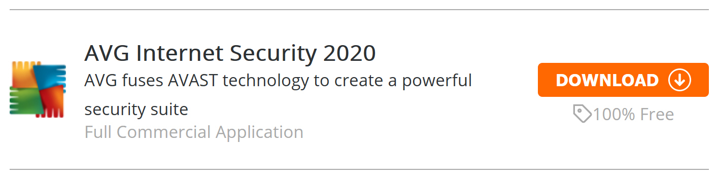 To celebrate the launch of the brand-new Downloadcrew, we're giving you AVG Internet Security 2020, worth $69.95, for free!