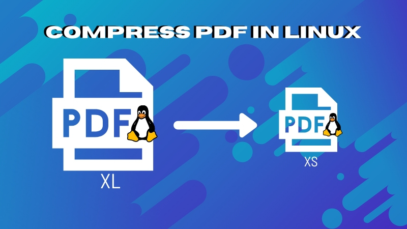How to Compress PDF in Linux