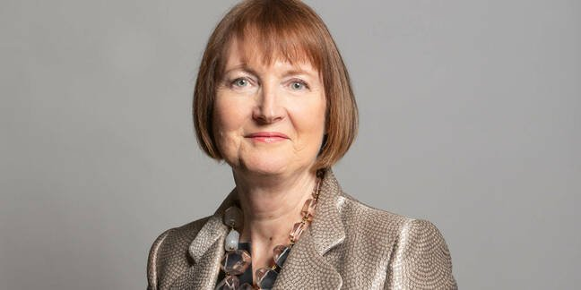 Former Labor Deputy Leader Harriet Harman calls on the UK Government to legally protect data from contact-tracking applications •