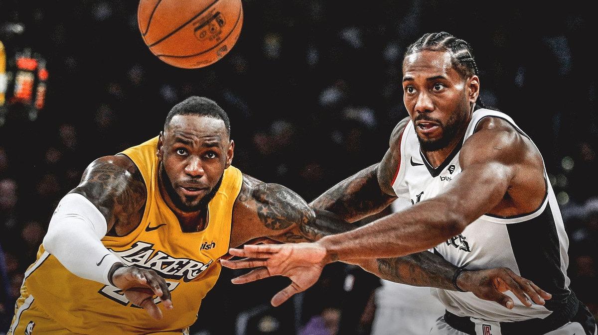 LeBron James, Lakers, Kavi Leonard, Clippers.
