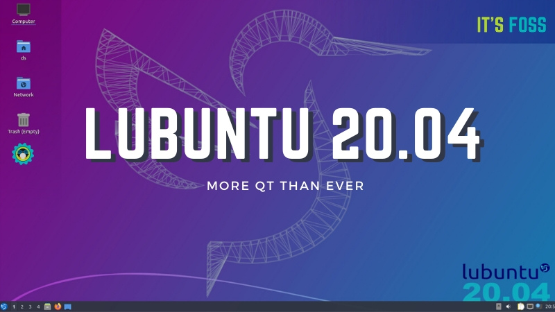 Lubuntu 20.04 Review: Lightweight, Minimalist, Polished