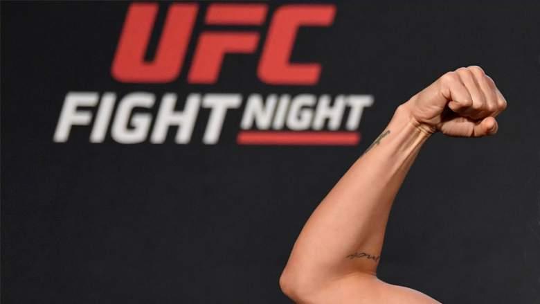 Mackenzie Dern is making UFC history in Las Vegas...