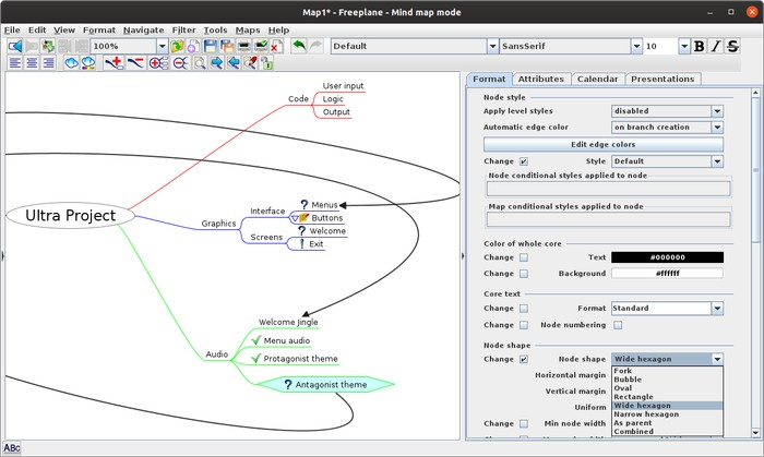 Useful cross-platform mind mapping software