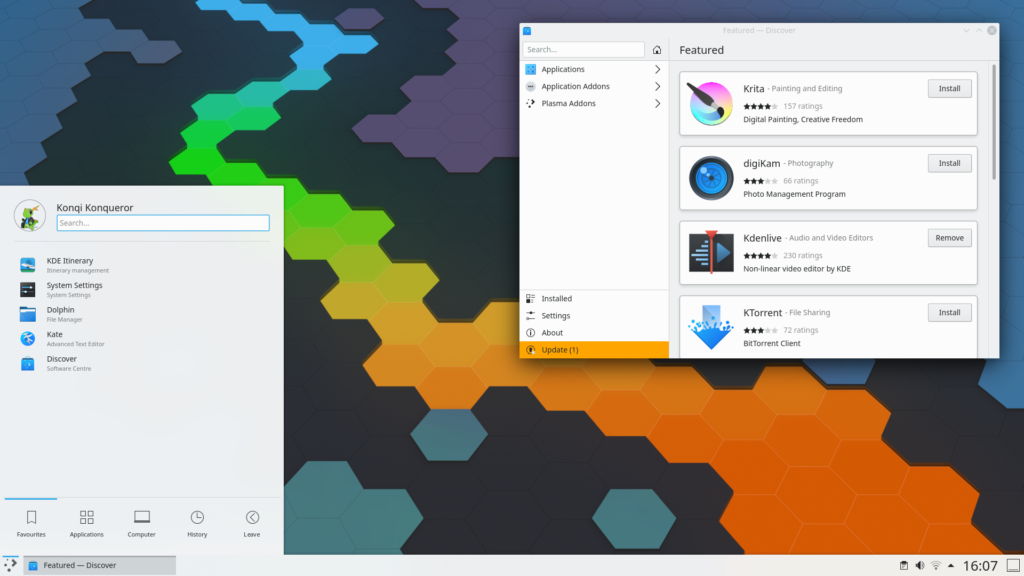 KDE Plasma 5.19 Beta is available to download
