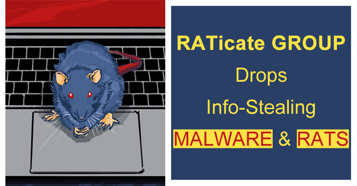 Hackers Group Launching and Information Stealing Malware