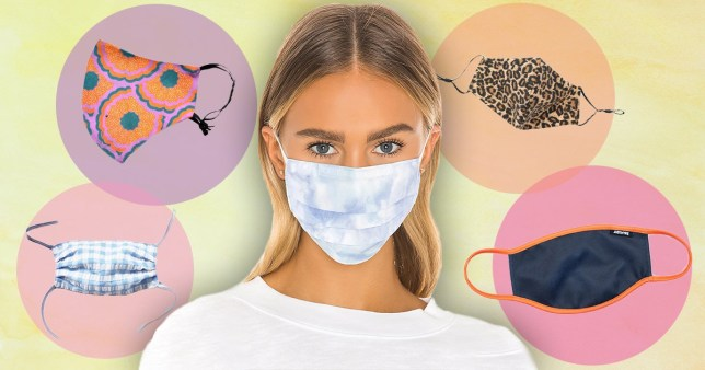 Really cool masks you can buy online (Photo: Revolve)