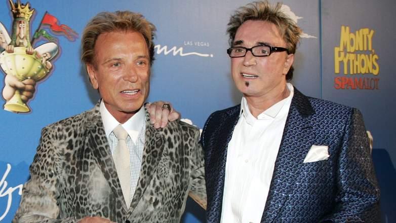 Roy Horne and Siegfried Fischbacher