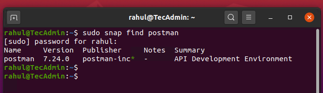 Working with Linux Systems Snap Packages