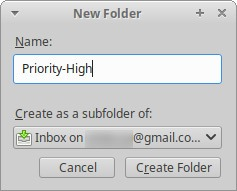How to Organize a QuickFilter Inbox in Thunderbird
