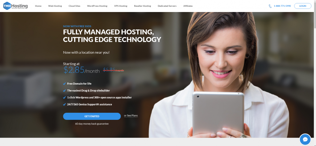 Review of TMDHosting Web Hosting Sun