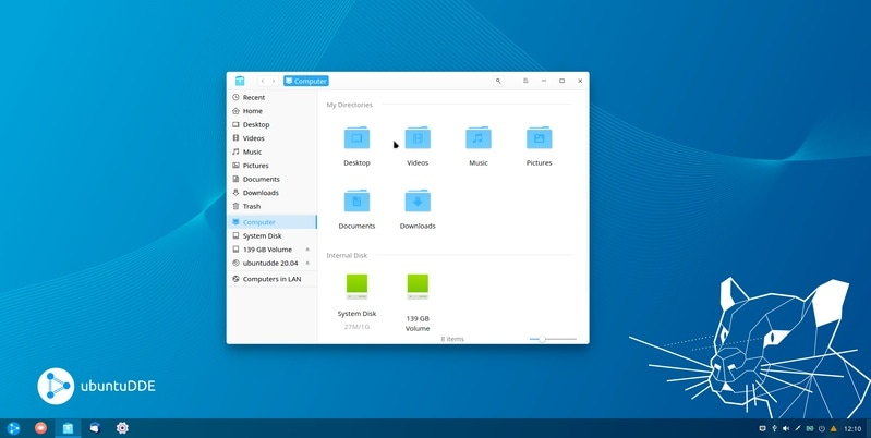 Oh, aha! Meet UbuntuDDE, New Linux Distro Bring Beautiful Deepin Desktop to Ubuntu