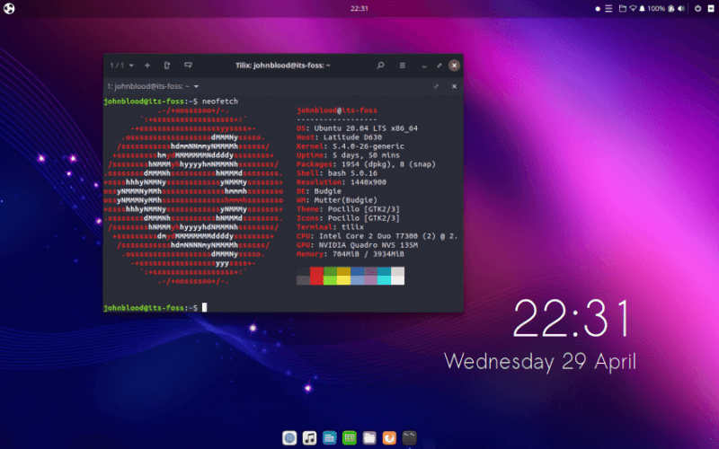 Ubuntu table bus