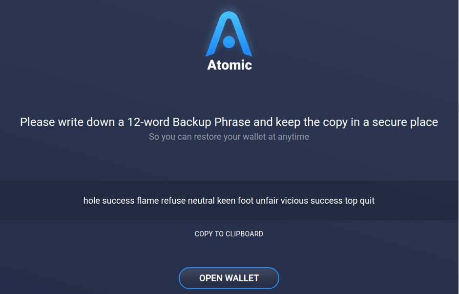 How to install and use the Linux Atomic Wallet