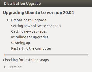 2 Ways to upgrade Ubuntu 19.10 to Ubuntu 20.04 (Graphic & Terminal)