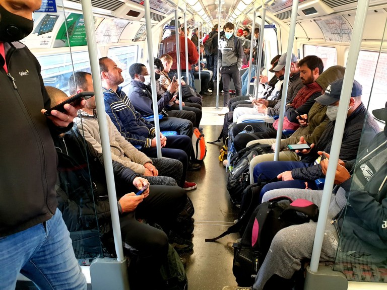 w8media Today is a busy London Underground and East London street.