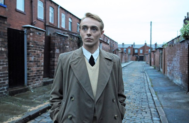 David Dawson as Tony Warren in The Road To Coronation Street