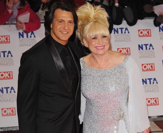 Barbara Windsor and Scott Mitchell.