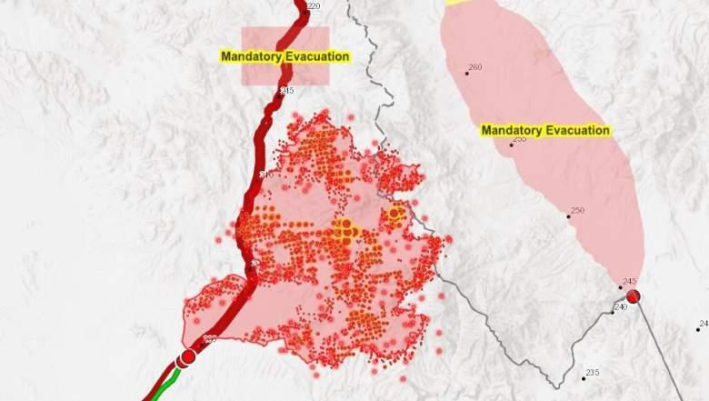 Bushfire Maps
