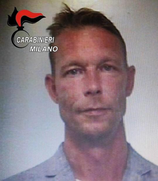 Christian B., suspect in the murder of Madeleine McCann.