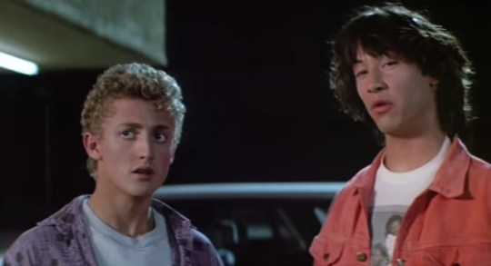 Co-authors Bill and Ted responded to a fan statement that the sequel would be too much awoken by the new female characters.