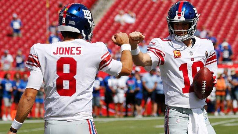 Daniel Jones represents a significant percentage increase over Eli Manning.