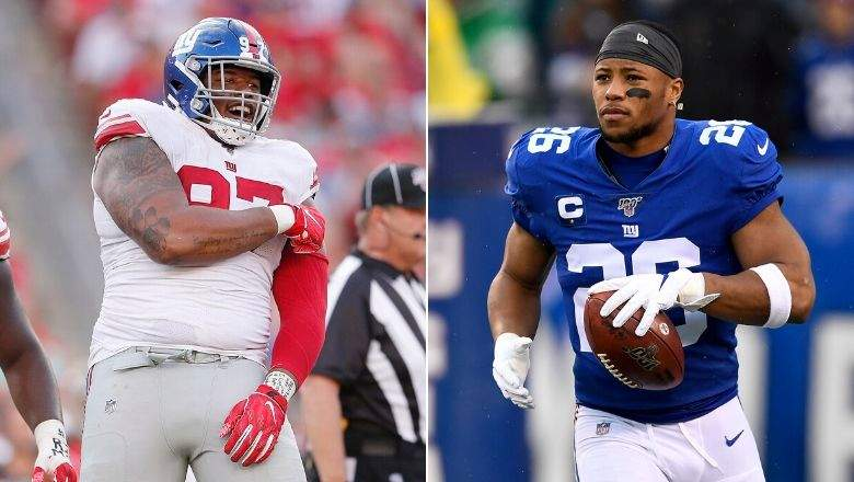 Dexter Lawrence and Sackwon Barkley of the Giants have joined the NFL All-Under 25.
