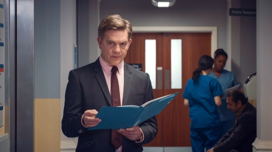 Guy Self in Holby City.