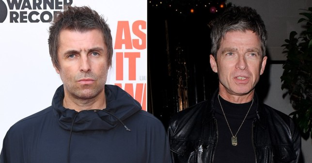 Liam and Noel Gallagher.