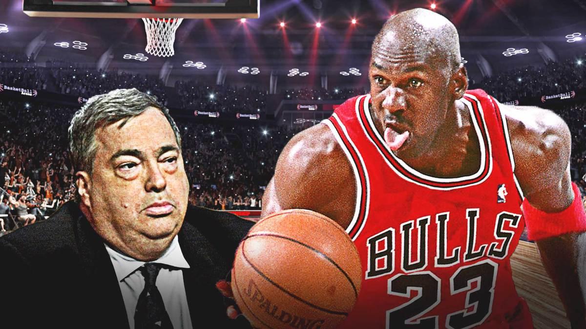 Michael Jordan, Bulls, Jerry Krause.