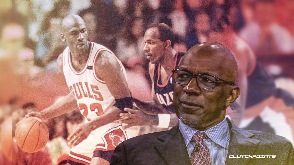 NBA, Clyde Drexler, Michael Jordan.