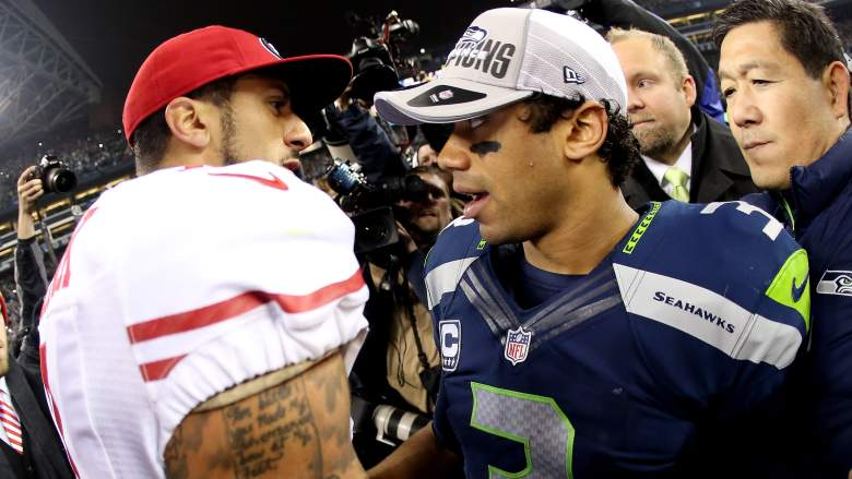 Russell Wilson Colin Kepernick