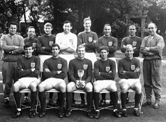 England's Winning World Cup Soccer Team, 1966