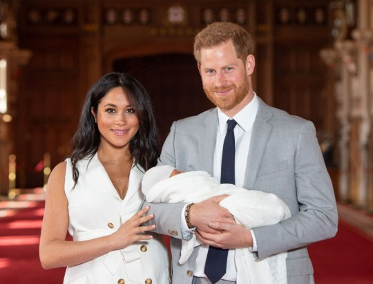 Meghan Harry and Archie