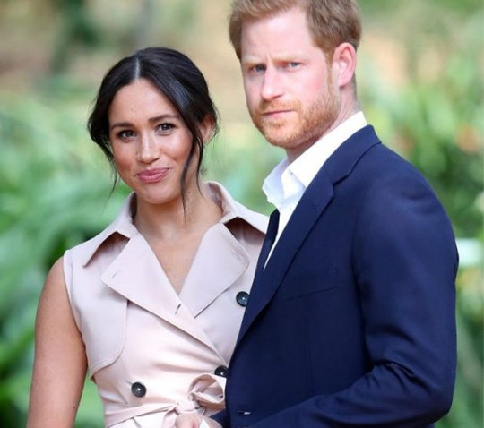 Harry and Meghan take legal action against drones used to take photos of son Pics: Getty