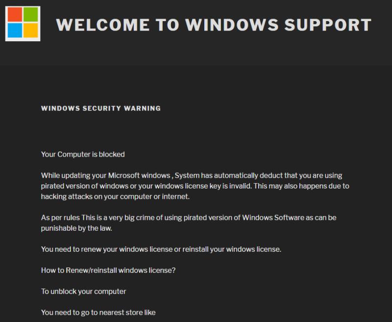 Lockscreen Ransomware Phishing Leads to Google Play Scam Card