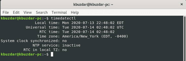 Set time zone for Debian 10 – Linux