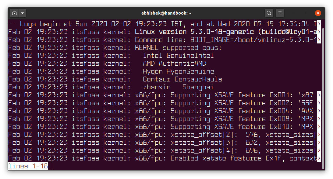 How to use the Linux journalctl command to analyze logs