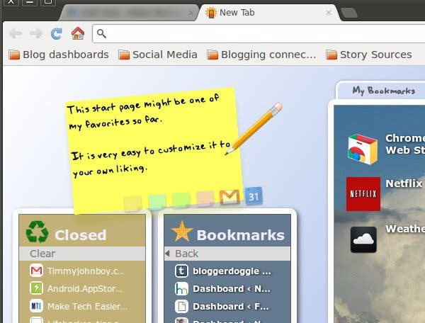 Best Chrome extensions to update the New Tab Page