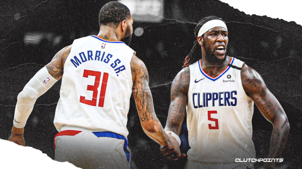 Marcus Morris, Montrezl Harrell, Clippers